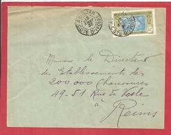 Y&T N°69  ABIDJAN   Vers  FRANCE 1935  2 SCANS - Côte-d'Ivoire (1892-1944)
