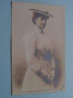 S.A.R.Mme La Princesse Clémentine De Belgique ( H. M. Uccle ) Anno 1902 ( Zie/voir Foto ) België ! - Familles Royales