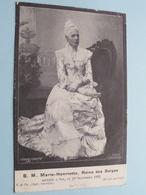 S. M. Marie-Henriette, Reine Des Belges (V & Cie) Décédée 19 Sept 1902 / Anno 19?? ( Zie/voir Foto ) België ! - Familles Royales