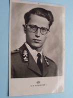 Z. M. BOUDEWIJN (Photo R. Marchand / LIBRA) Anno 19?? ( Zie/voir Foto ) België ! - Familles Royales