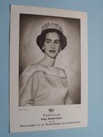 FABIOLA (Bescherming Doofstommen / L.A.B.) Anno 19?? ( Zie/voir Foto ) België ! - Familles Royales