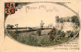 13329816 Manila_Philippines Old Spanish Wall - Philippinen