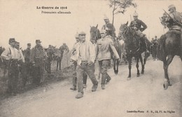 Rare Cpa  Prisonniers Allemands - 1914-18