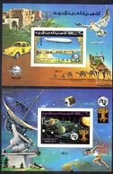 17.5.1977; LAR; 100 Ans De Progrés, YT BF 22 + 23, Neuf **, Mpm Dentelé; Lot 50773 - Libye