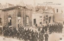Rare Cpa Réoccupation De Termonde Par Les Belges - 1914-18