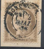N°56 NUANCE ET OBLITERATION. - 1871-1875 Cérès