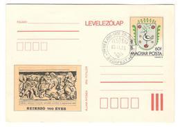 11022 - SZIKSZO 700 EVES - Entiers Postaux