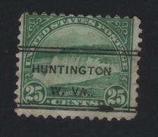 USA 1030 SCOTT 568 TD.11 HUNTINGTON W.VA. - Stati Uniti