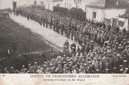 Rare Cpa Convoi De Prisonniers Allemands - 1914-18