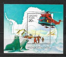 Hungary 1987 The 75th Anniversary Of The Antarctic Exploration  MNH - Hongrie