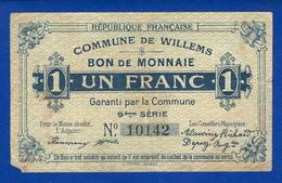 Willems 59/2802  1  Fr - Bons & Nécessité