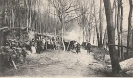 Rare Cpa Campement D'artillerie En Woevre - 1914-18