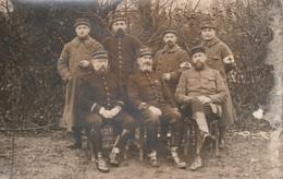 Rare Photo-carte Officiers Et Sous Officiers Du 41 - 1914-18
