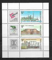 Hungary  1987 International Stamp Exhibition CAPEX `87, Toronto; OLYMPHILEX `87, Rome And HAFNIA `87, Copenhagen MNH - Hongrie