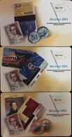 Paco \ ITALIA \ PF 1695 1696 1697 \ Tris Europa Card Show 2003 - Riccione \ NUOVE - Italië