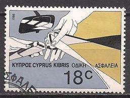 Zypern  (1986)  Mi.Nr.  668  Gest. / Used  (6ad19) - Zypern (Republik)