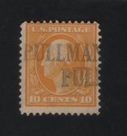 USA 1023 SCOTT 416 PULLMAN PULLM WASH - Stati Uniti