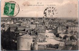 47 DURAS - Vue Générale De La Ville - France