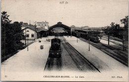 51 CHALONS SUR MARNE - La Gare. - Châlons-sur-Marne