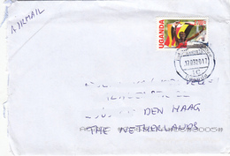 UGANDA - Postally Used Cover To The Netherlands With 2013 Kiprotich Olympic Gold UGX 2700 OUGANDA C024 - Uganda (1962-...)