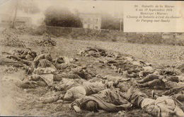 5480A  14 18  MORTS   MARNE  NON ECRITE 1914 - Guerre 1914-18