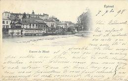 Epinal (Vosges) - Ecusson Du Musée, Maison Haffner Et Fils - Carte Dos Simple 1898 - Epinal