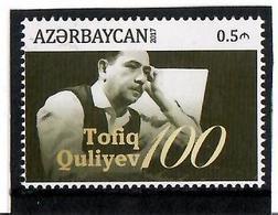 Azerbaijan .2017 Composer Tofig Guliyev-100. 1v : 0.5m Michel # 1221 - Azerbaïjan