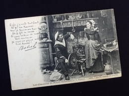 Bretagne  Les Chansons De Botrel Illustrées  Le Fil Cassé (6ème Couplet)  N° 338 - Folklore