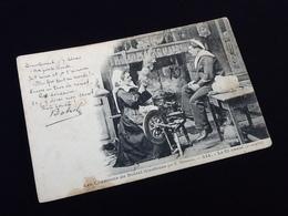 Bretagne  Les Chansons De Botrel Illustrées  Le Fil Cassé (2ème Couplet)  N° 334 - Folklore
