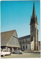 Plouescat: SIMCA 1000, CITROËN 2CV & DYANE - L'église Et Les Halles - (Nord-Finistère) - Toerisme