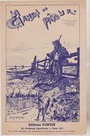 (GEO1) LA CHANSON DU PATOUR ,  THEODORE BOTREL , Illustration E H VINCENT - Partitions Musicales Anciennes