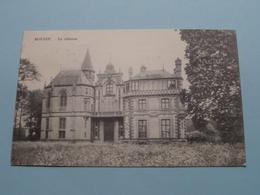Le Château BOUSSU ( Mlles DUREZ ) Anno 1924 ( Zie/voir Foto ) ! - Boussu