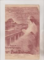(GEO1)  CHANSON  CREPUSCULAIRE  , Poesie ARMAND SILVESTRE , Musique PAUL DEMET - Partitions Musicales Anciennes