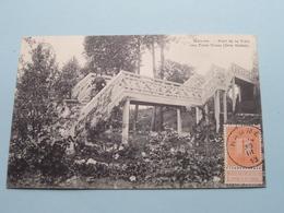 Pont De La Villa Des TROIS TROUS ( DRIE GATEN ) ( Coll. ....tels.? ) Anno 1913 ( Zie/voir Foto ) ! - Hamme