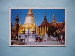 BANGKOK  -  Inside Of The Emerald Buddha Temple  -  THAILANDE - Thaïlande