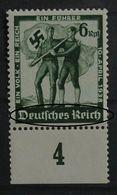 Germany Terzo Reich MNH ** Errore Di Stampa 1938.(SET16/1 - Germania