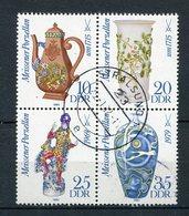 DDR Nr.2667/70    Viererblock       O  Used       (21854) ( Jahr: 1982 ) - DDR