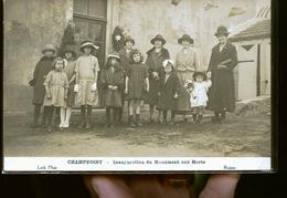 CHAMPVOISY INAUGURATION   PHOTO DE LOTH A REIMS          JLM - France