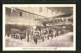 AK Cöln 1916, Ausstellung Für Kriegsfürsorge, Flugzeuge - Expositions