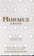 Oman Hotel Key, Hormuz Grand Hotel Muscat  (1pcs) - Oman