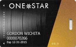 Hard Rock Casino - Tulsa OK - Slot Card With P728452-4 Over Mag Stripe - Casino Cards