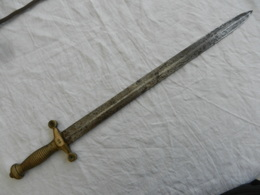 Glaive De Pomppier Mod. 1831 - Armes Blanches