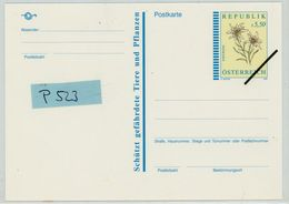 P 523 Muster Postkarte - Ganzsachen