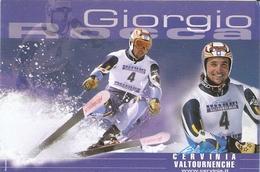 135/FG/18 - SPORT - SCI - GIORGIO ROCCA (con Annullo) - Winter Sports