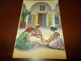 B703  Preparazione Del Couscous Cm14x9 Non Viagg. - Cartoline