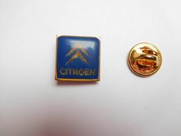 Beau Pin's , Auto , Logo Citroën , Bleu - Citroën