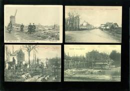 Beau Lot De 60 Cartes Postales De Belgique  Guerre  Ruines     Mooi Lot Van 60 Postkaarten Van België  Ruinen  Oorlog - Postkaarten