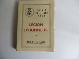 Carnet Palais Et Musée De La Légion D' Honneur Plusieurs Cartes De Napoléon Bonaparte - Musées