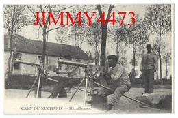 CPA - Mitrailleuses - CAMP DU RUCHARD ( Canton De Chinon ) 37 Indre Et Loire -  Pas De Nom D'éditeur - Chinon