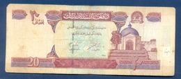 AFGHANISTAN 20 A 2002 Prefix B11 - Afghanistan